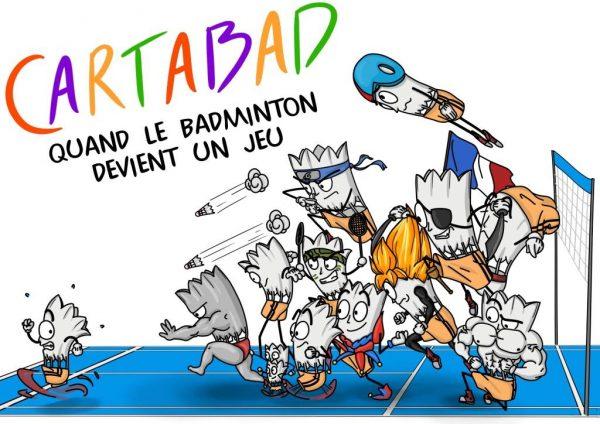 Cartabad | quand le badminton devient un jeu...