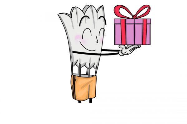 Plumy offre un cadeau